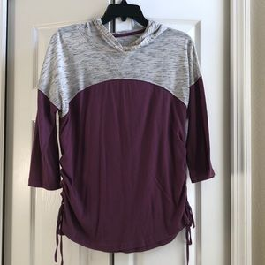 SO long sleeve top with hood size M